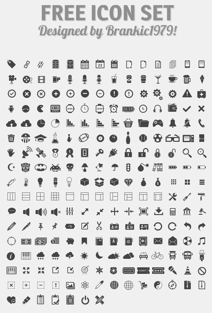 free free 350 vector web icons