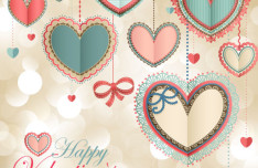 Beautiful Valentine Card 09