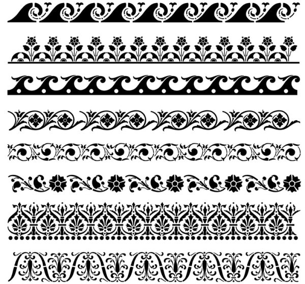 Free Dark Lace Patterns Vector Texture Titanui
