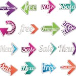 High Quality Color Vector Arrows
