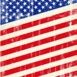 Retro American Flag Vector
