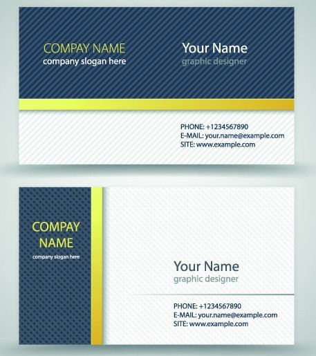 Free Simple Business Card Vector 01 TitanUI