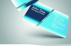 Stylish Color Business Cards 02
