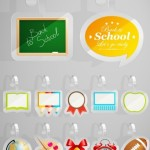 Back To School Plastic Hang Tags