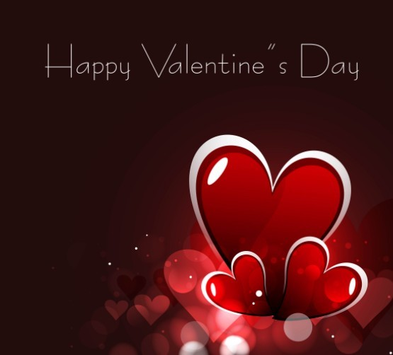 Free Fantastic Valentines Day Card with Halo Background 03 TitanUI – Valentines Card Background