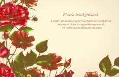 Spring 2013 Floral Background Vector 04
