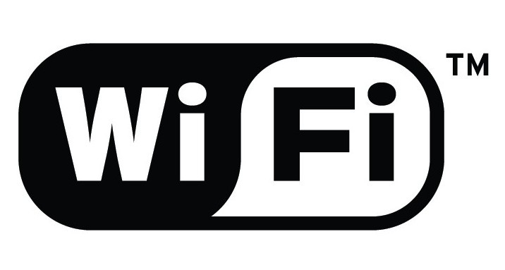 Black and White WIFI Vector Logo