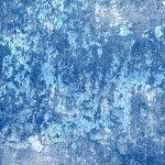 Blue Dilapidated Wall Background Texture