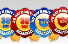 Set Of Money Back Guarantee Badges