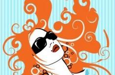 Fashion Pattern Girl Vector Illustration 31