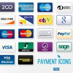 Set Of Payment Method Icons (PSD)