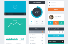 Free Graphic Resources For Flat Web Design