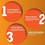 Vector Circular Numeric Options For Infographic 02
