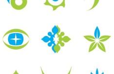 Set of Colorful Logos Design Vector