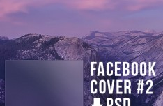 Cover Badge for Facebook PSD