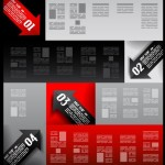 Vector Information Analysis Template For Infographic 04