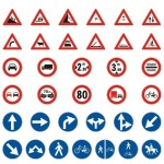 Vector Traffic Signs and Symbols 02