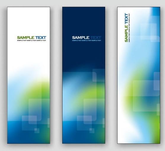Free Elegant Vertical Banner Background Vector 02 - TitanUI