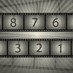 Film Reel Countdown Vector