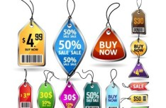 Set Of Creative Pricing Tags 02