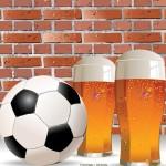 Vector Football Design Background 04