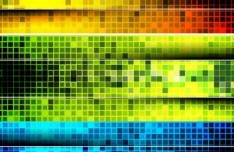 Set of Abstract Technology Vector Banners 02