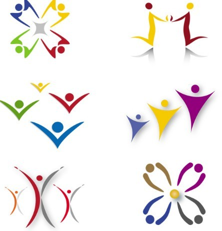 Oval Logo Design Logo Design 02 Vector