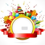 Coupon For Cake Art : Free Cartoon Happy Birthday Elements Vector 01 - TitanUI