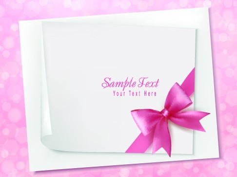 Free Greeting Card Blank Sheet For Text Vector 02 TitanUI – Free Blank Greeting Card Templates