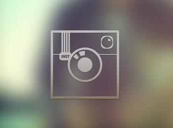 Free Stylish Transparent Instagram Icon PSD - TitanUI  Free Stylish Tr...