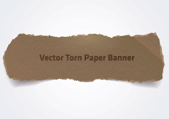 Ripped Paper Vector