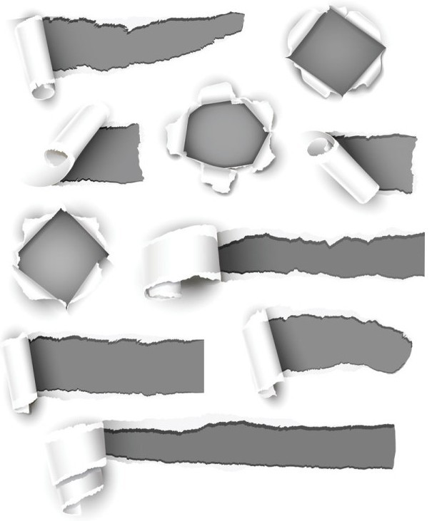 Free Vector Ripped And Torn Paper Texture 06