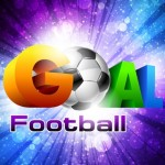 Colorful Football Goal Background Vector 05