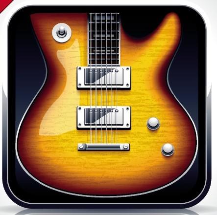 Apps Icons Vector Vector Guitar App Icon