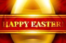 Elegant Happy Easter Card Templates Vector 07