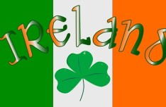 St.Patrick's Day Shamrock Template Vector 06