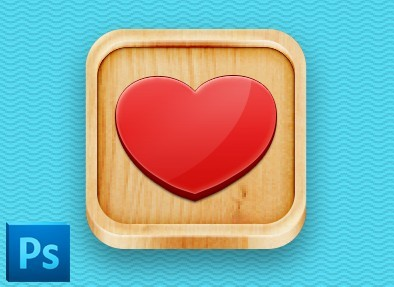 Free 3D Wooden App I