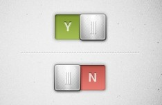 Basic Metal Switch Slider PSD