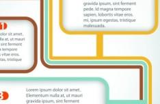 Creative Flow Chart Vector Template 02