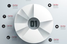 Vector Origami Infographic Option Labels 07