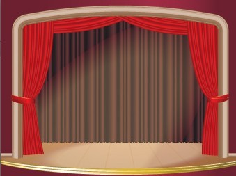 Free vector red stage curtain 03 titanui for Theatre curtains psd