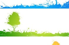 Green ECO Concept Vector Elements 04
