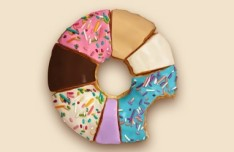 Sweet Donuts PSD Design