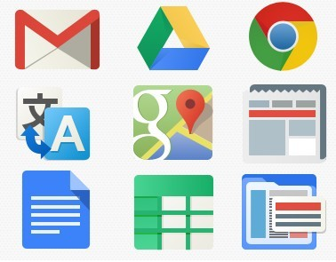 how to change icon for google on mobile