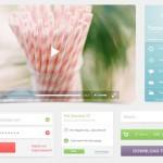 Beach Web UI Kit PSD