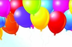 Colorful Holiday Balloons 04