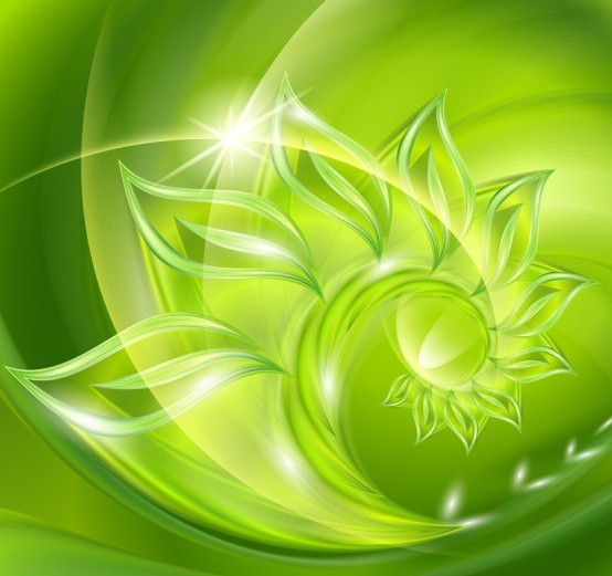 Free Colorful Abstract Swirls Background Vector 02 - TitanUI Green And White Swirl Backgrounds
