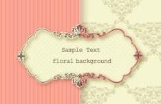 Clean and Elegant Vector Floral Frame 05