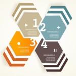 Vector Infographic Arrow Circle Elements 01