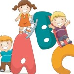 Cute Cartoon Kids Vector Illustration 04